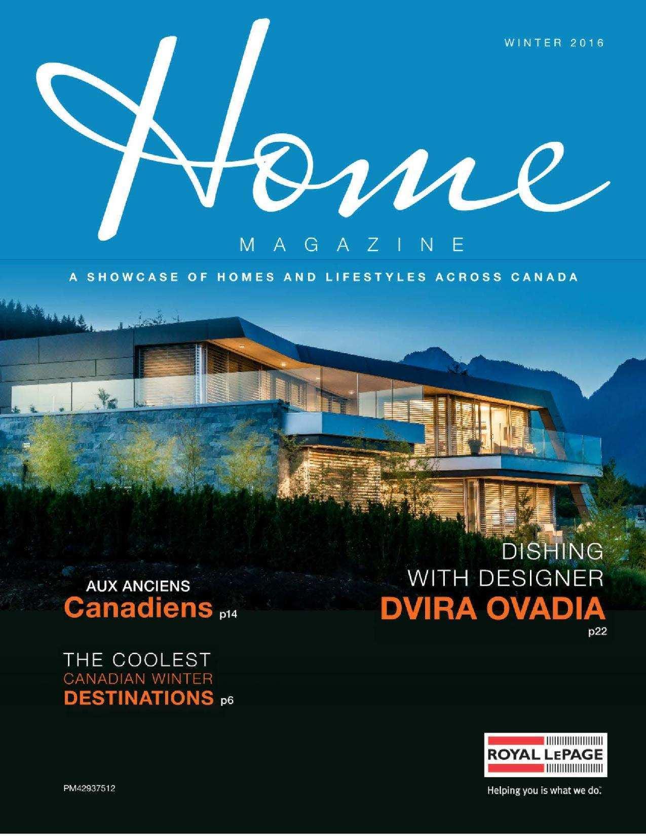 Press Release: Home Magazine