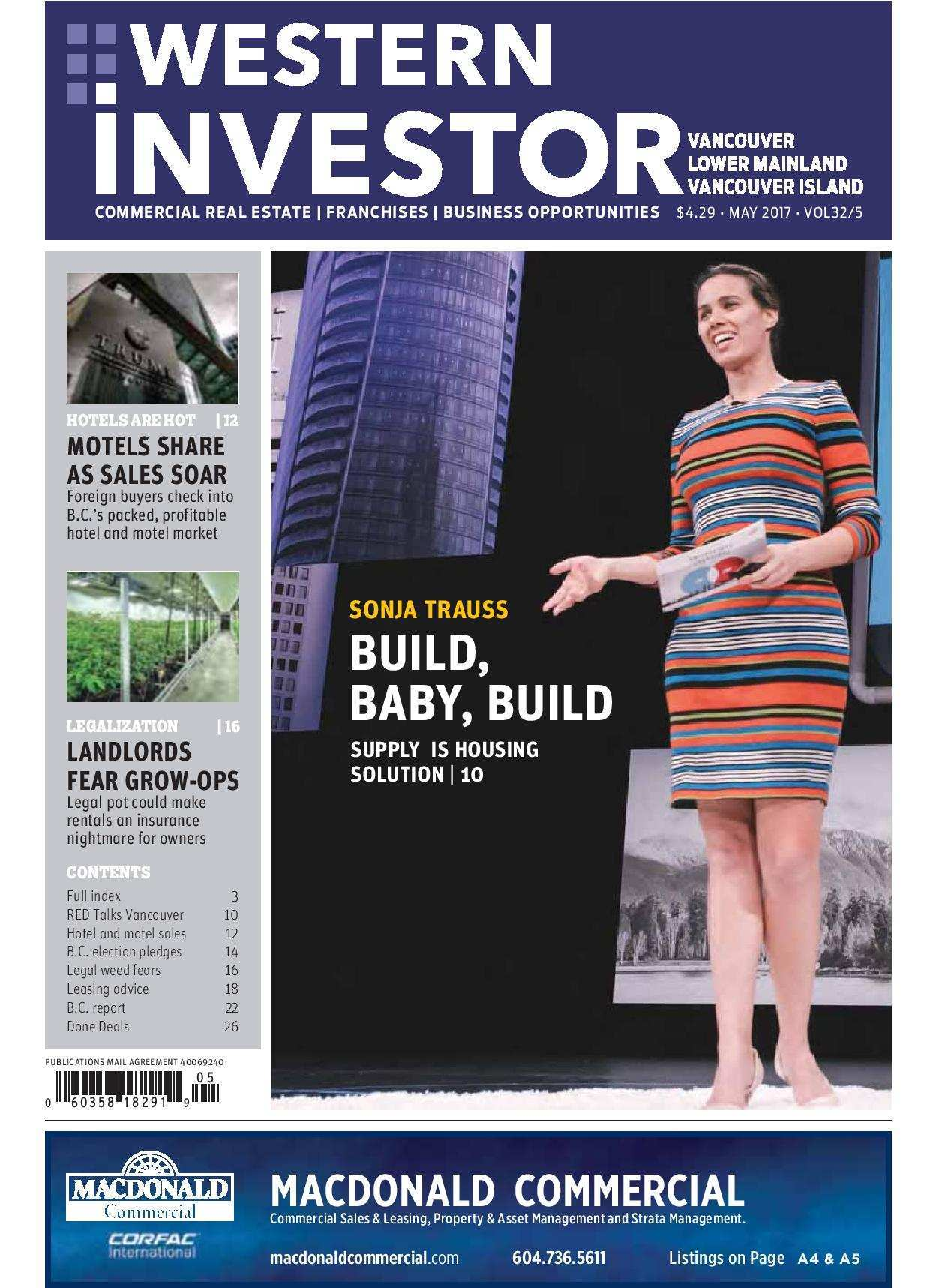 Press Release: Western Investor Ad – May 2017