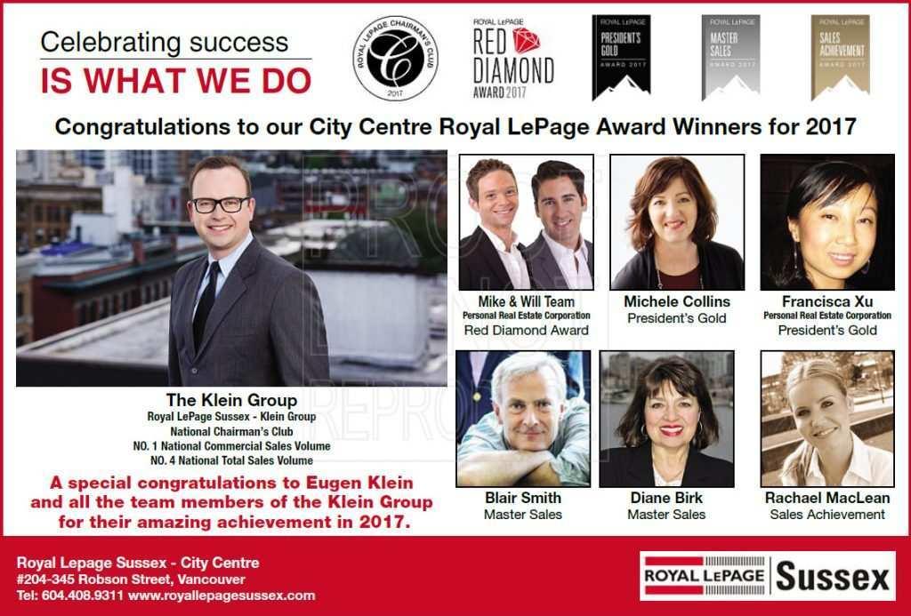 2017 Royal LePage Award Winners
