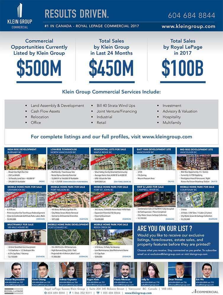 Press Release: Western Investor Ad – November 2018