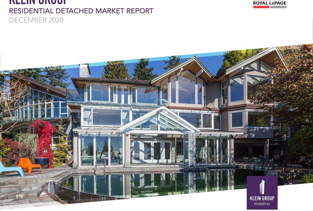 2020 – December Residential Detached Homes Market Report
