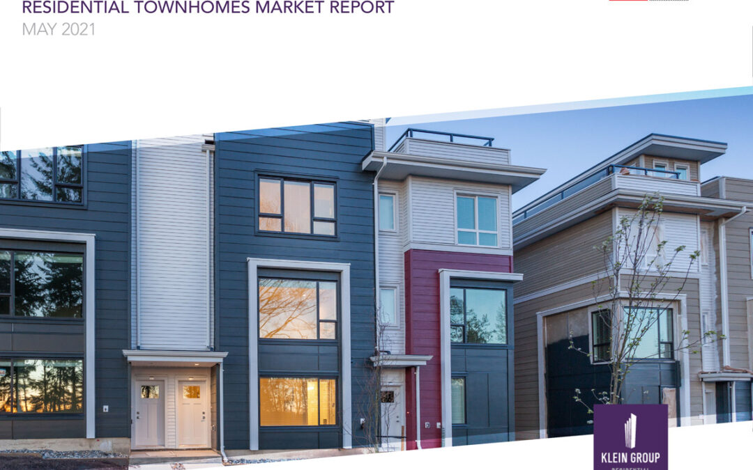 2021 – May Residential Townhomes Market Report