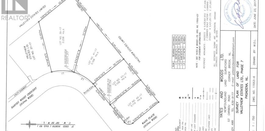 41 Harvey Wight Crescent, PASADENA, Newfoundland & Labrador, Canada A0L1K0, Register to View ,For Sale,Harvey Wight,1170818