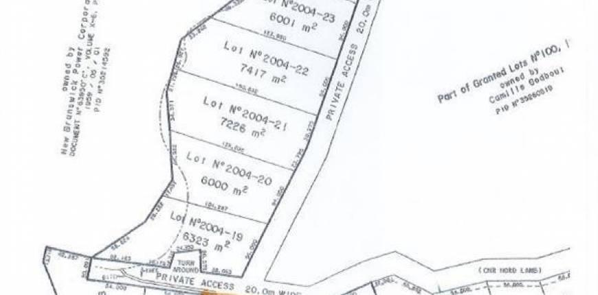 LOT 2004-16 CNR Road, Saint Leonard, New Brunswick, Canada E7E2J9, Register to View ,For Sale,NB050884