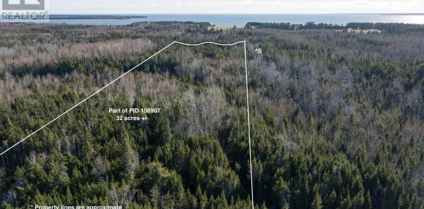 ACREAGE LAUNCHING BACK Road, Launching, Prince Edward Island, Canada C0A1G0, Register to View ,For Sale,202023538