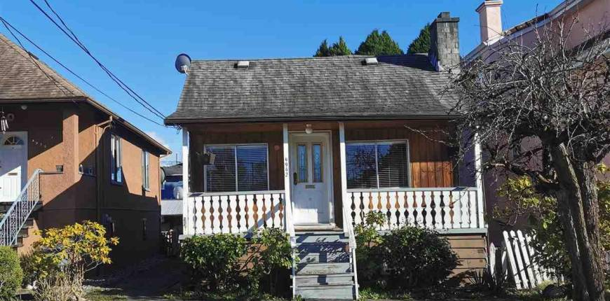 4942 RUPERT STREET, Vancouver, British Columbia, Canada V5R2J8, 4 Bedrooms Bedrooms, Register to View ,2 BathroomsBathrooms,House,For Sale,RUPERT,R2555582