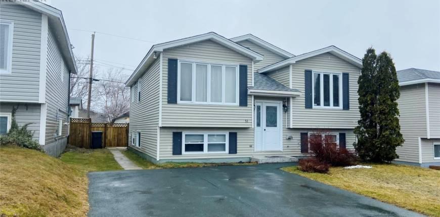 51 McGrath Crescent, Mount Pearl, Newfoundland & Labrador, Canada A1N4G8, 4 Bedrooms Bedrooms, Register to View ,3 BathroomsBathrooms,Duplex,For Sale,McGrath,1228644