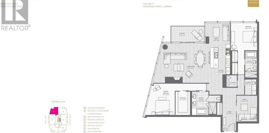 #6003 -180 UNIVERSITY AVE, Toronto, Ontario, Canada M5H0A2, 3 Bedrooms Bedrooms, Register to View ,3 BathroomsBathrooms,Condo,For Sale,University,C5272159