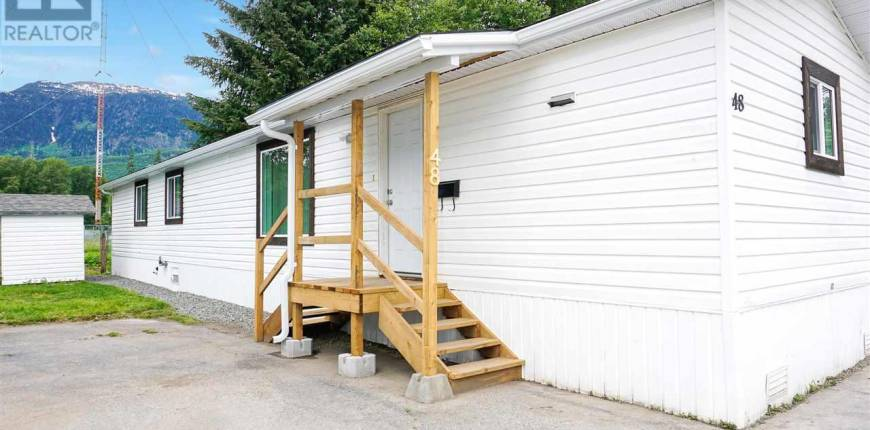 48 584 COLUMBIA AVENUE, Kitimat, British Columbia, Canada V8C1V3, 2 Bedrooms Bedrooms, Register to View ,2 BathroomsBathrooms,Mobile Home,For Sale,COLUMBIA,R2593002